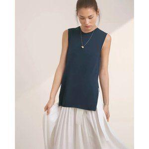 Aritzia Wilfred Wool Palmier Sleeveless Sweater